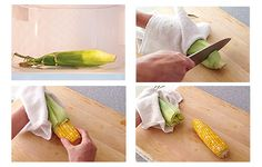 How to cook corn on the cob in the microwave at Simply Recipes