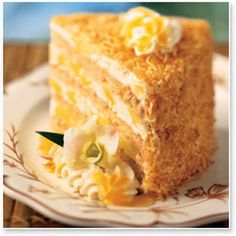 TO DIE FOR!!!! Tommy Bahama's Pina Colada Cake. This cake does not disappoint!