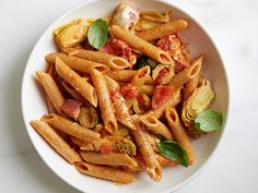 Antipasti Penne Recipe : Food Network Kitchens : Food Network - FoodNetwork.com