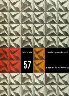 yearbook covers, graphic designers, kapitzki, poster, graphics, jahrbuch 57, der gestaltingenieur, nature graphic design, book cover design