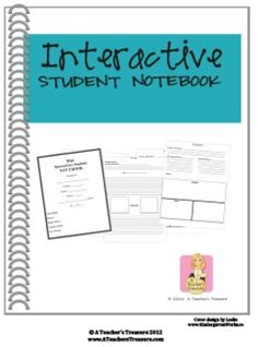 $14.99 This file contains an interactive student notebook packet with cover pages, a mini lesson, and 100 pages worth of templates to help you and your st...