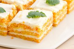 Carrot and cream cheese cake by Pille @ Nami-Nami