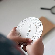 SECRET CODES~  Every little spy needs a way to send secret messages to their partner. Use this DIY printable decoder to write cryptic messages