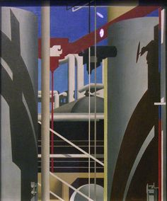 charles sheeler paintings | Charles Sheeler, Incantation , 1946; oil on canvas; 42 1/8 x 20 1/8 in ...