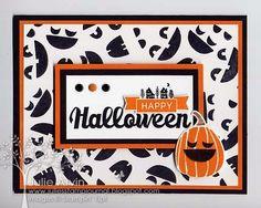 Julie's Stamp Journal: Halloween Swap card share