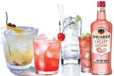 Low-Cal Liquors Were Loving for Summer #SelfMagazine