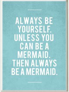 mermaid from printablewords