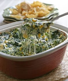 Baked Vegetable Dip - Easy to make! From Ingredients, Inc.