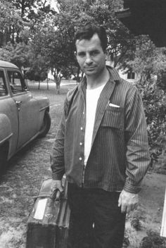 Jack Kerouac...going somewhere.