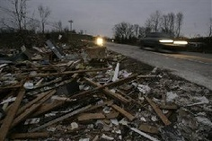 2008: Rescue workers found an 11 month old baby alive in the rubble of tornado-torn Castalian Springs, TN after the storm had orphaned him and destroyed his home. His mother had been killed in this horrid storm, but the child made it through unscathed.