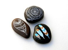 Trees and Feathers #pebbles, #rocks, #stones