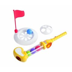 It's never too early to start golfing
