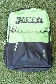 9,95€ - JOMA MOCHILA VERDE - Tiendas MEGASPORT -  #joma #mochila #maleta #macuto #bag #deporte #colegio #deportes #colegial #vueltaalcole #sport #sports #sportbag