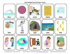 Final V: Free Speech Therapy Articulation Picture Cards   - Re-pinned by @PediaStaff – Please Visit http://ht.ly/63sNt for all our pediatric therapy pins