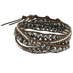 wrap bracelet tutorial must try! @Kim at eCrafty.com #ecrafty #diybracelets #braceletsupplies