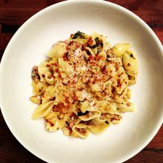 A Home Cook's Take on Mozza's Orecchiette with Fennel Sausage and Swiss Chard.
