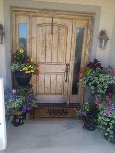 My front door....