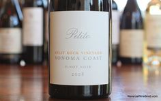 The Reverse Wine Snob: Petito Split Rock Vineyard Pinot Noir 2008 - Splendid. So fun to drink we had to rate it a 10. Only 150 cases produced. Get it at an amazing price with free shipping thanks to a sponsor.  http://www.reversewinesnob.com/2014/10/petito-split-rock-vineyard-pinot-noir.html #wine #winelover