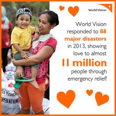 More than 90 percent of natural disaster-related deaths occur in developing countries, where poverty and lack of resources exacerbate the suffering. World Vision works in many of these countries, preparing for disasters before they happen, and responding quickly when they do.