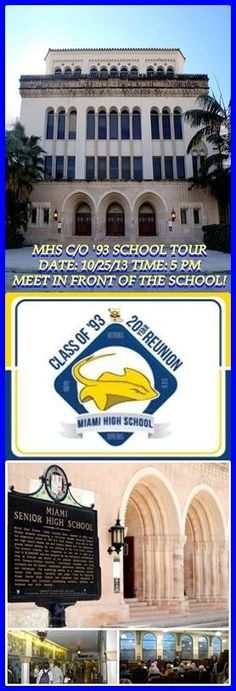 Event # 1 for our weekend 20 Year Class Reunion: SCHOOL TOUR!!    We had a great turnout!!  http://mhsclassof93reunion.com