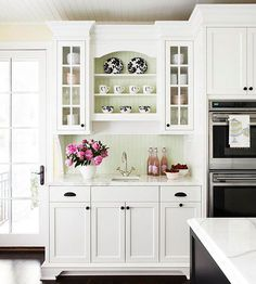 You know my love of white kitchens