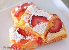 Strawberry Lemon Bars www.thestitchinmommy.com