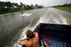 road water ski