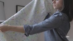 PureWow Presents: How to Fold a Fitted Sheet