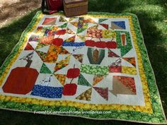 Picnic Quilt by Carole @ From My Carolina Home, via Flickr