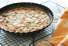 Crust-less Summer Zucchini Pie | Skinnytaste