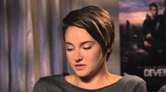 Divergent Interview with Shailene Woodley and Theo James