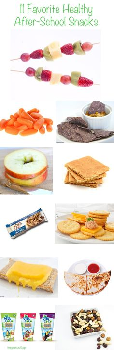 11 favorite after-school snacks (that are healthy!)