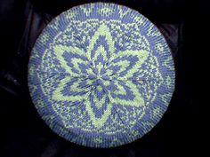 Ravelry: Blue Tumpal Beret pattern by Dyah Dyanita. pattern free at Ravelry