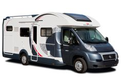 Semi-integraal camper leverbaar in de types GRD XLP Magnifico, GRD 285P Magnifico, T-Line 285M Magnifico en T-Line Gar M Magnifico