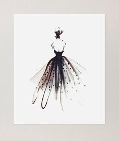 Image of Tulle Gown | Poster $50