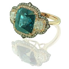 IVY new york - spinel and diamond ring