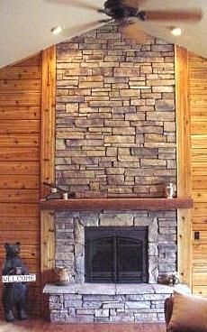 Cultured Stone Fireplaces | Cultured Stone Fireplaces . . . How Do They Stack Up To Natural Stone?