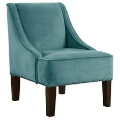 Evangeline Arm Chair in Caribbean, perfect for my living room!
