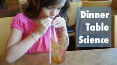 Turn eating at a restaurant into a science learning moment with this fun activity.
