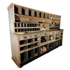 piec mercantil, potting sheds, hous idea, potting benches, cabinet, vintage shops, drawer, craft storage, craft rooms