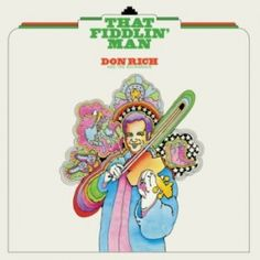 Don Rich - The Fiddlin' Man #TapasDeDiscos