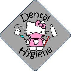It's Dental Hygiene Month! :)  #HelloKitty #dental #hygiene