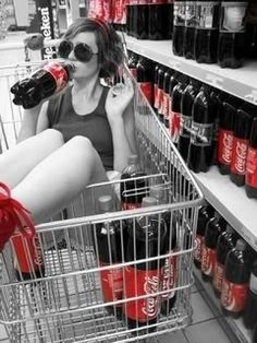 I love Coke and this picture!