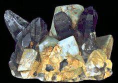 Amazonite & crystals