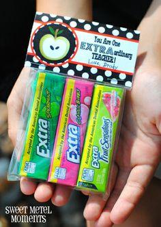 "Sweet Metel Moments: Free Printable - Teacher Appreciation Gift - ""Extraordinary Teacher"""