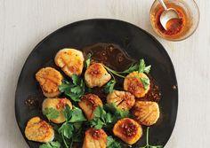 cook, diet food, scallopswithspiceoil646jpg, spice oil, drink, flavor, recip