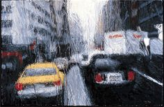 painting with rain -