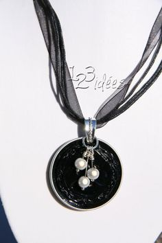 DIY Collar de cápsulas nespresso con perlas