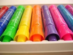 Loved Smelly Markers and the cool scratch and sniff stickers