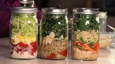 salad recipes, work lunches, salad dressings, make ahead lunches, mason jar salads, lunch salads, eat healthy, mason jars, healthy lunches